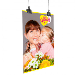 Affiche Bonne Fête Maman - Enfant