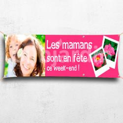 Banderole Les Mamans sont en Fête