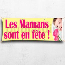 Banderoles Mamans sont en Fête