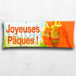 Joyeuses Pâques orange