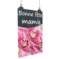 A93- Affiche bonne Fête Mamie