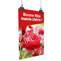A94- Affiche bonne Fête Mamie Chérie