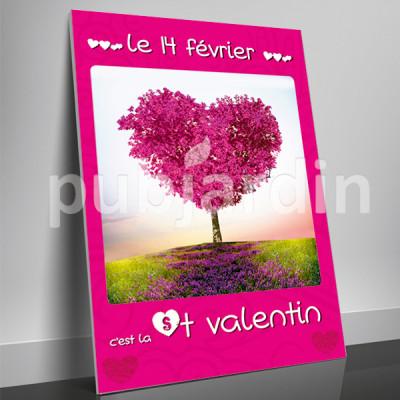 A11- Affiche Saint Valentin