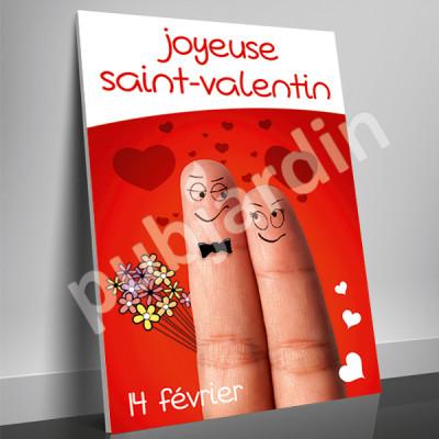 A19- Affiche Saint Valentin humour