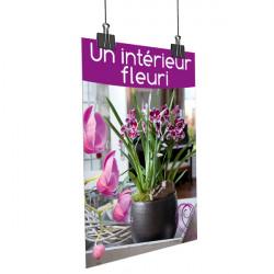Affiche un intérieur fleuri Orchidée