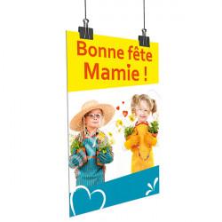 A26- Affiche Bonne Fête Mamie - Enfants