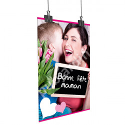 A29- Affiche Bonne Fête Maman