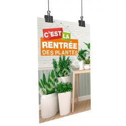 Affiche rentrée des plantes