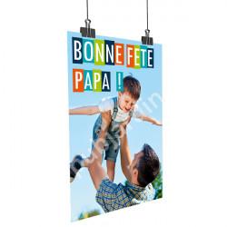 A43- Affiche Bonne Fête Papa