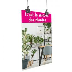 Affiche rentrée des plantes bureau