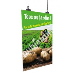 A72- Affiche pommes de terre
