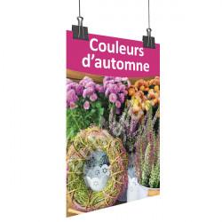 A82- Affiche couleurs d'automne - rose