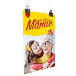 A88- Affiche bonne Fête Mamie