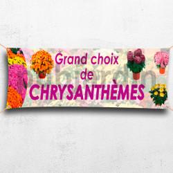 C31-Calicot Chrysanthèmes
