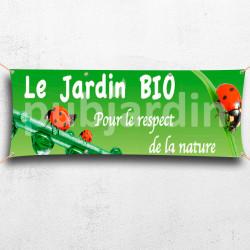 C32-Banderole Jardin Bio