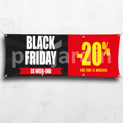 C52-Banderole Black Friday -20%