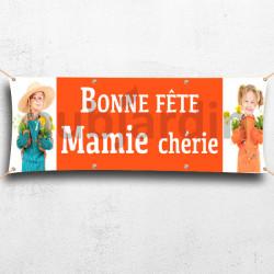 C01-Banderole Bonne Fête Mamie chérie
