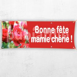C66-Banderole Bonne Fête Mamie Chérie