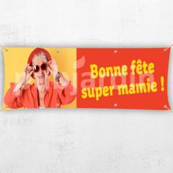 C60-Banderole Bonne Fête Super Mamie