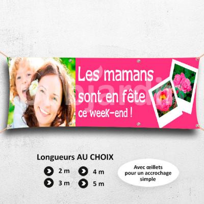 C02-Banderole Les Mamans sont en Fête