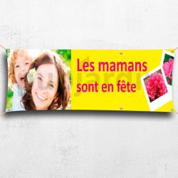 C39-Banderole Bonne fête maman