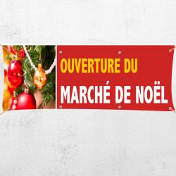 C49-Banderole ouverture marché Noël