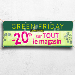 C54-Banderole Green Friday -20%