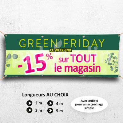 C55-Banderole Green Friday -15%