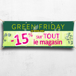 C55-Banderole Green Friday -15%