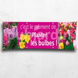 C27-Banderole Planter des bulbes