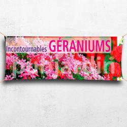 C04-Banderole Incontournables Géraniums