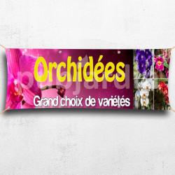 C22-Banderole Orchidées