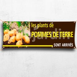 C26-Banderole Plants de Pommes de terre