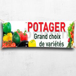 C24-Banderole Potager grand choix de variétés