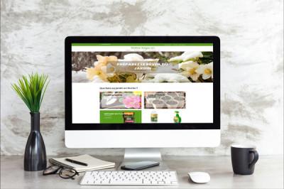 Site internet e-commerce spécial jardinerie