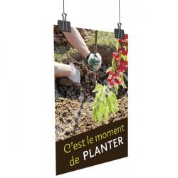 A83- Affiche souple Plantation