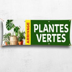 C79-Banderole arrivage plantes vertes