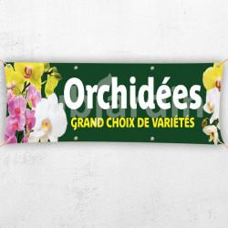 C84-Banderole orchidées