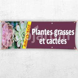 C85-Banderole arrivage plantes grasses