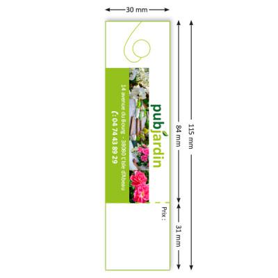 Etiquettes prix 30 x 115 mm