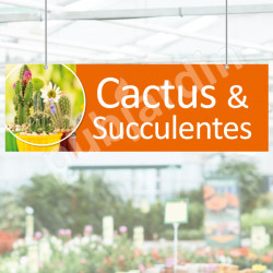 Panneau Cactus en Dibond®