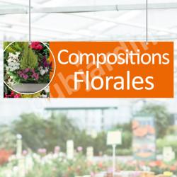 P14- Panneau Compositions Florales