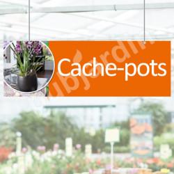 Panneau Cache-pots en Dibond®