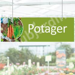 P18- Panneau rayon potager