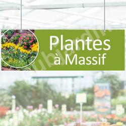 P20-Panneau signalétique plantes à massif