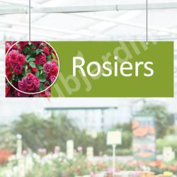 P21R- Panneau rosiers à suspendre