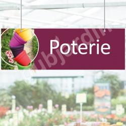 P36- Panneau rayon poterie à suspendre