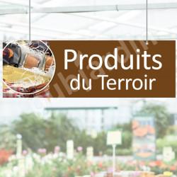 Panneau Produits du terroir en Dibond®
