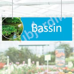 P8- Panneau Bassin en PVC ou Dibond®